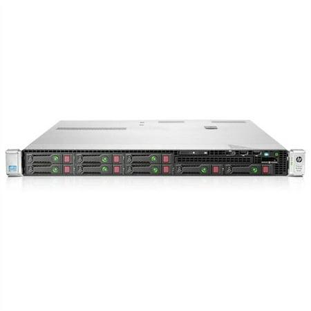 HP ProLiant DL360p G8 670632-S21 1U Rack Server Xeon E5-2609 2.4GHz - 2 Processor Support Maximum RAM - Gigabit Ethernet - Hewlett Packard