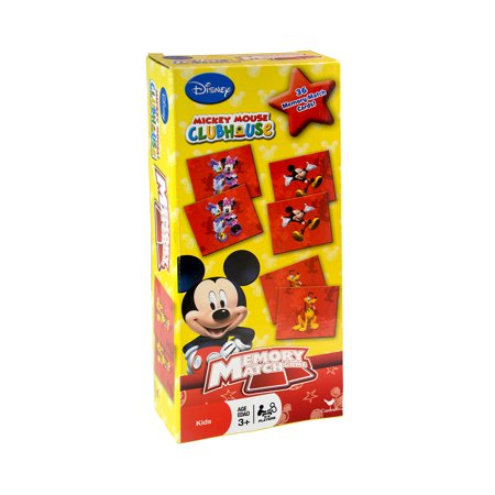 Childrens Early Development Toys Disney Mickey Mouse Clubhouse Memory Match Game (36pc Set) (Multipack of 3) for $<!---->