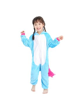 01a34a471f Blue Little Girls Pajamas   Robes - Walmart.com