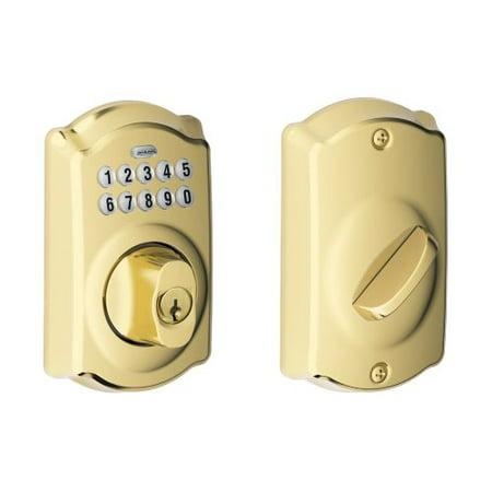 Schlage Be365 Cam Camelot Electronic Keypad Single