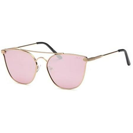 Sassy Flat-Lens Oversized Aviator Style Sunglasses, (Sassy Sunglasses)