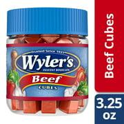 Wyler's Beef Instant Bouillon Cubes 3.25 oz Jar