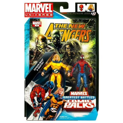 Marvel Universe Sentry & Spider-Man Action Figure 2-Pack