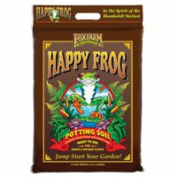FoxFarm Happy Frog Nutrient Rich Rapid Growth Potting Soil, 12 quart | FX14081