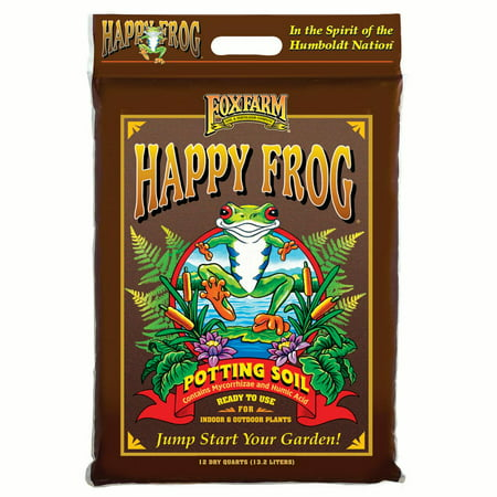 FoxFarm Happy Frog Nutrient Rich Rapid Growth Potting Soil, 12 quart |