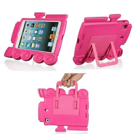 TCD iPad Mini 1 2 3 Train Series Kids Foam Shock Proof Screen Protector - Train Shock