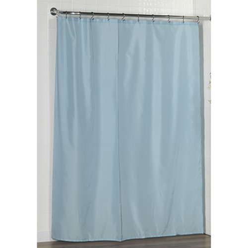100% Polyester Fabric Shower Curtain Liner With Weighted