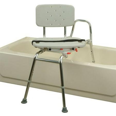 Sliding Transfer Bench With Swivel Seat Walmart Com