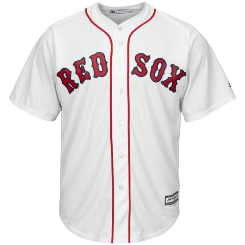 Boston Red Sox Majestic Youth Official Cool Base Jersey - White