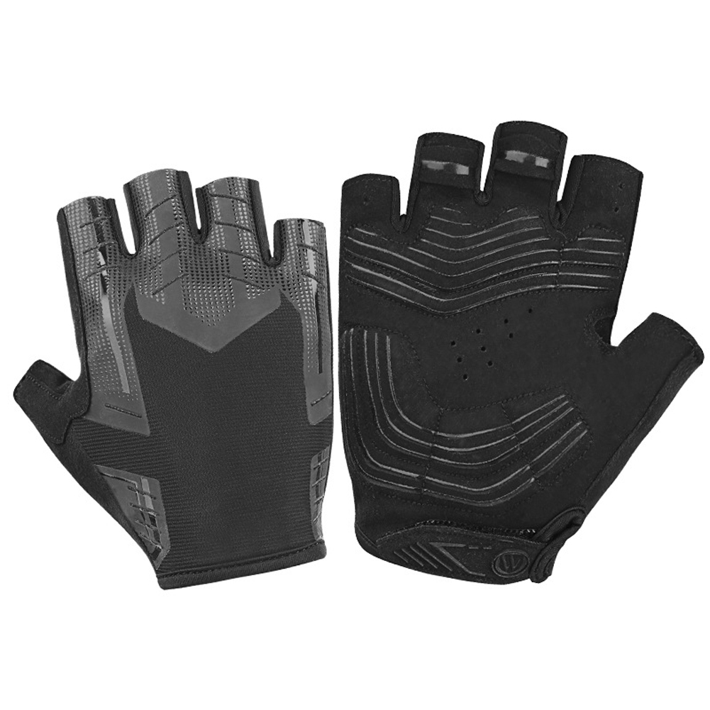 New Half Finger Cycling Gloves Bike Bicycle Gel Padded Fingerless Cycle Gloves