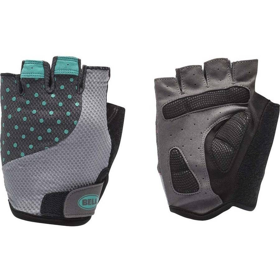Bell Sports 7080345 Adelle 500 Half-Finger Womens Cycling Gloves Small/Medium
