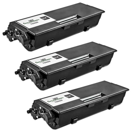 - SpeedyInks - Compatible Brother 3PK TN-460 Toner Cartridge 6, 000 Page Yield for Brother HL 1435, Brother HL 1440, Brother HL 1450, Brother HL 1470n - Black