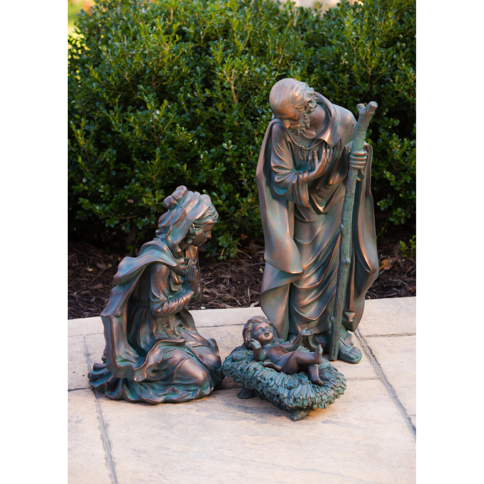 Evergreen Enterprises Small 3 Piece Nativity Set
