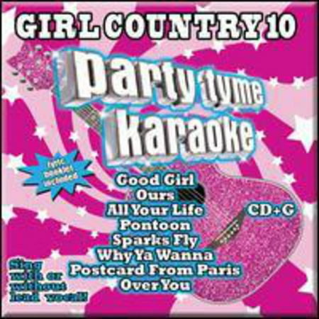 Party Tyme Karaoke - Girl Country 10 (CD)