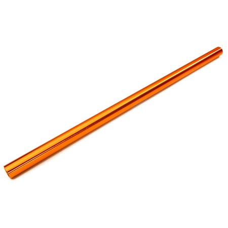 Integy RC Toy Model Hop-ups OBM-6855ORANGE Machined Alloy Light Weight Center Main Drive Shaft for Traxxas 1/10 Slash