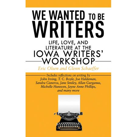 We Wanted to Be Writers : Life, Love, and Literature at the Iowa Writers' Workshop](Skills Workshop Halloween)