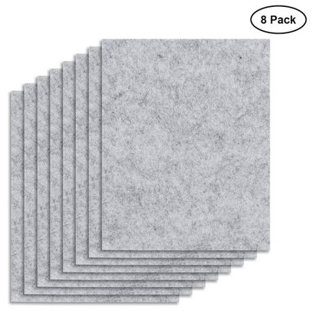 SHIYAO 8 Pack Felt Furniture Pads Felt Sheets Cut Furniture Felt Chair Pads for Furniture Furniture Pads for Floors 8 Pack Felt Furniture Pads Felt Sheets Cut Furniture Felt Chair Pads for Furniture Furniture Pads for Floors