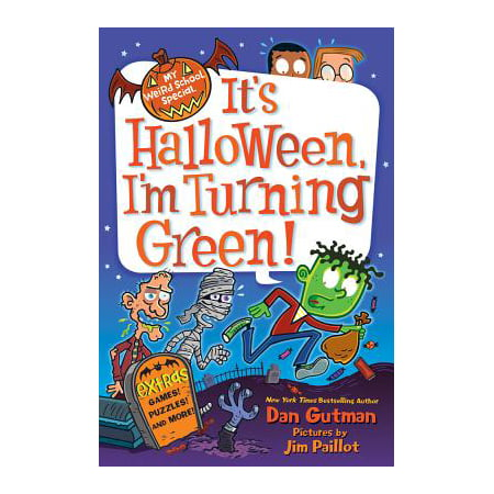 My Weird School Special: It's Halloween, I'm Turning Green! - eBook