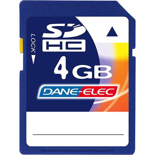Dane-Elec 4GB SDHC Memory Card