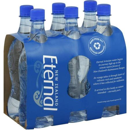 Eternal Artesian Water Artesian Water, 600 ML, 6 count (Pack of