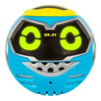Really Rad Robots Yakbot, YB-01 (Blue), with Voice Warp