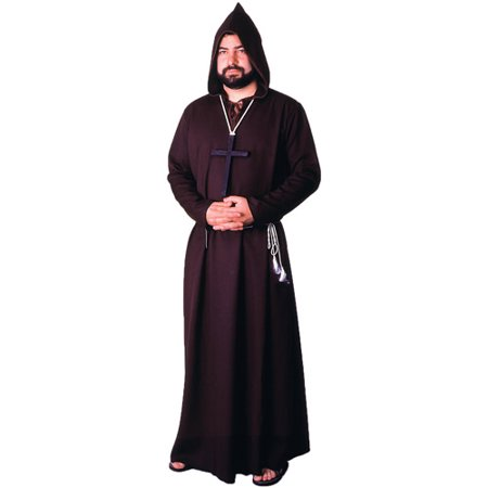 Monk Robe Brown Quality Adult Halloween Costume