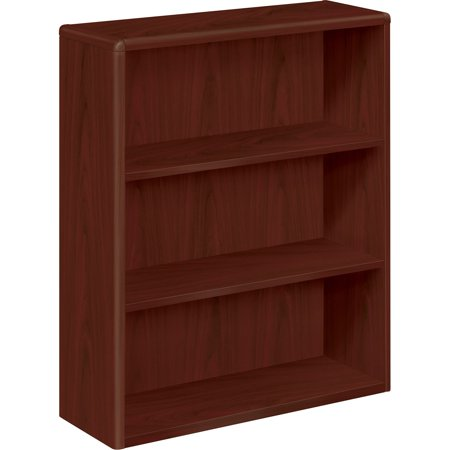 HON, HON10753NN, 10700 Series 3-Shelf Bookcase, 1 Each, Mahogany