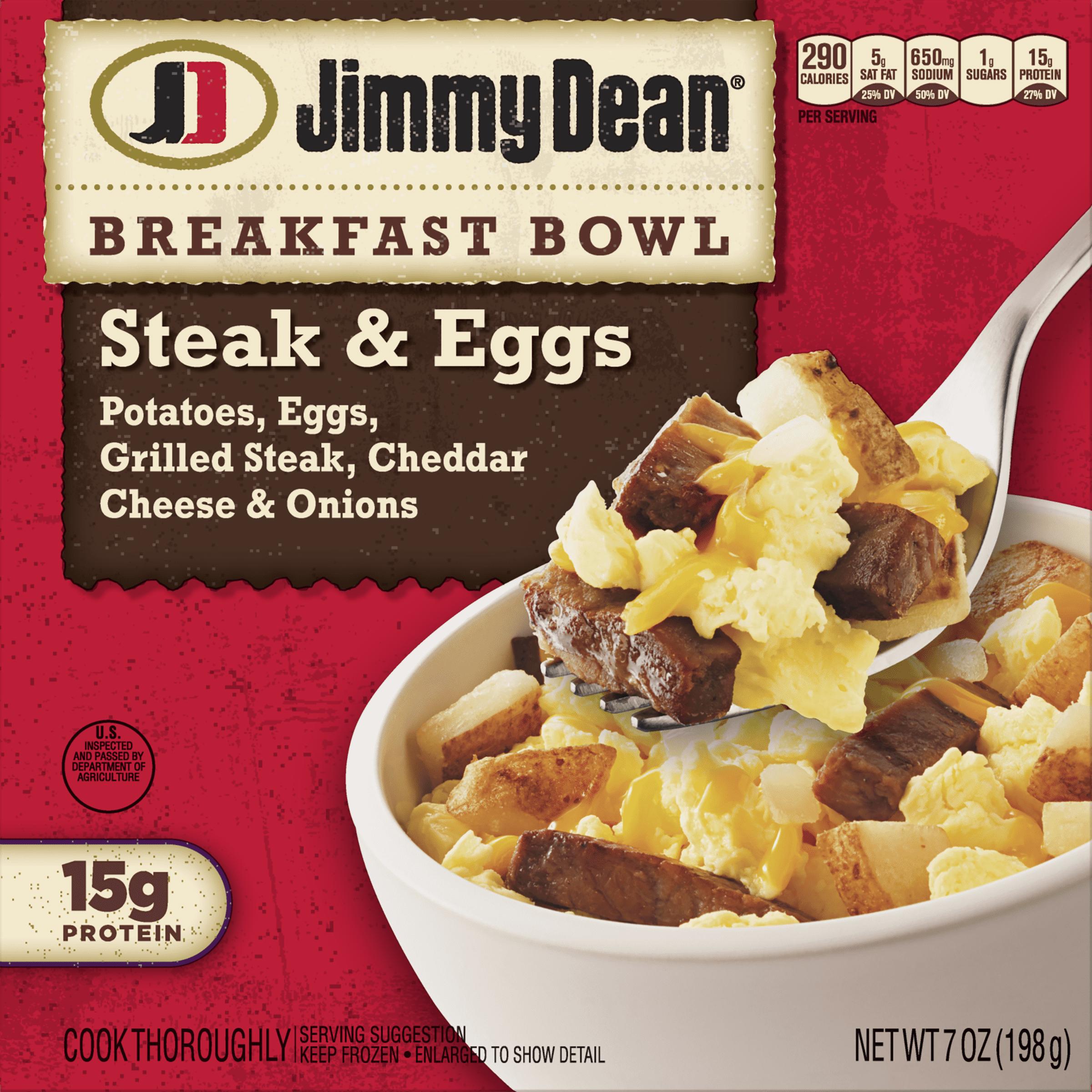 Jimmy Dean® Steak, Egg & Cheese Breakfast Bowl, 7 oz.