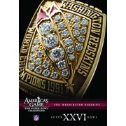 Nfl America's Game: 1991 Redskins (Super Bowl XXVI) ( (DVD)) by