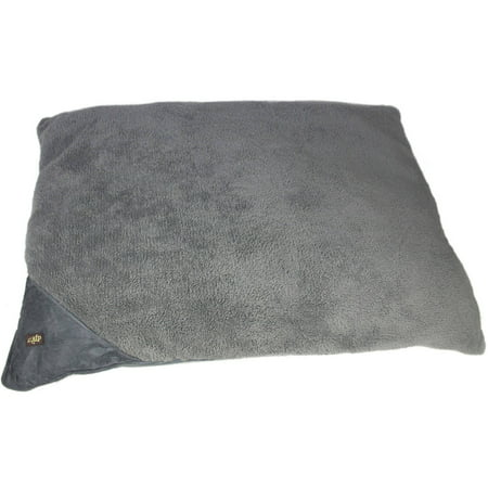 AFP Lambswool Pillow Bed, Grey, Lg