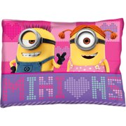 "Universal Minions Girl ""Way 2 Fun"" Bed Pillow, 1 Each"