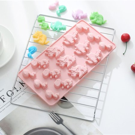 Ustyle 15 Slots Silicone Chocolate Mold Jelly Pastry Cake Decorations Jelly Candy Mould Tray Baking Supplies - image 2 of 4