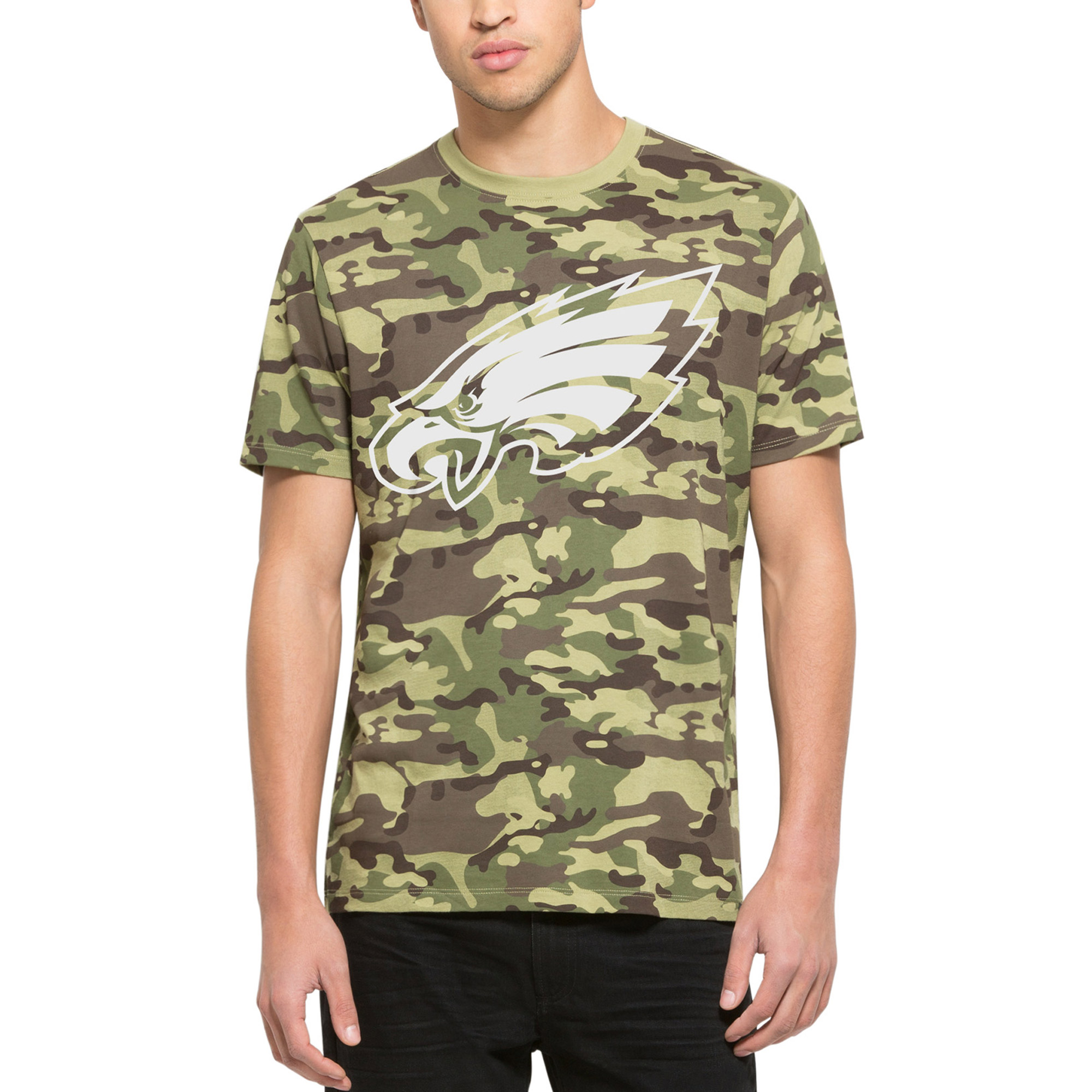 low priced bd978 78d11 Philadelphia Eagles '47 Alpha T-Shirt - Camo