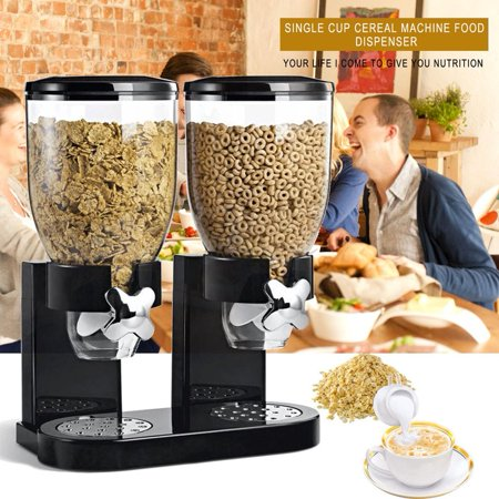 Appliance Cereal Dry Food Dispenser Storage Container Dispense Kitchen Machine For Gift