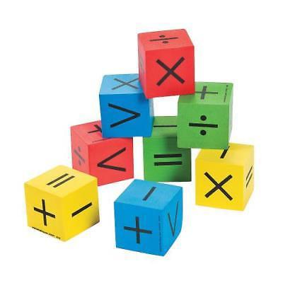 IN-13651381 Math Symbol Dice Per Dozen