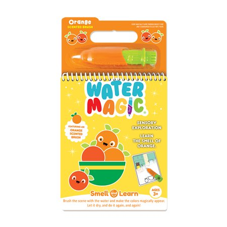 Scentco Water Magic - Paint with Water Scented Activity Kit - Tangerine Scented Water
