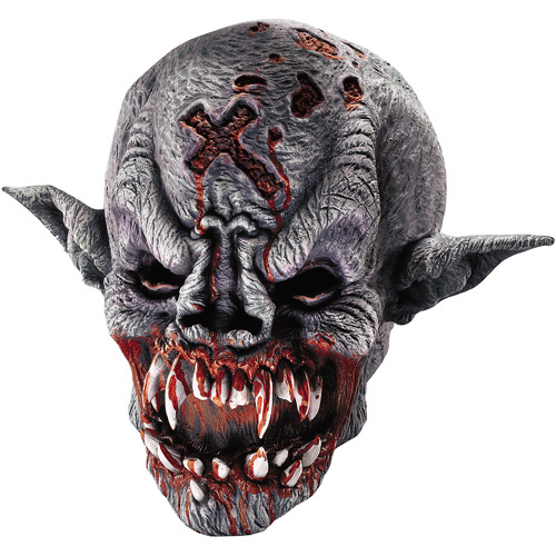 Vampire Demon Mask Adult Halloween Accessory