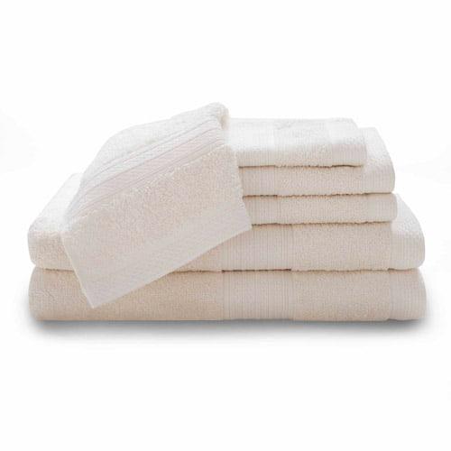 Baltic Linen 6-Piece Luxury Cotton Towel Set by Baltic Linen Company