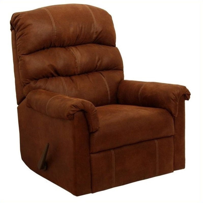Catnapper 42732200444 CATNAPPER CAPRI ROCKER RECLINER, TRIPLE PAD BACK, TANNER