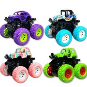 Toy Cars for 3-6 Year Old Boys, Monster Trucks for Boys Kids Toy Trucks for Boys Age 3 4 5 6 7 Year Old Boys Gifts Birthday
