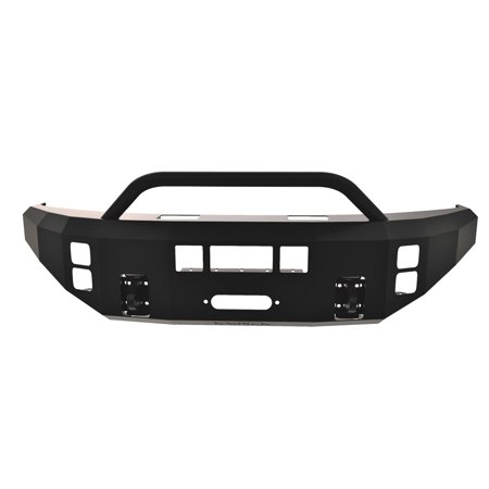 - ICI (Innovative Creations) FBM12FDN-PR Magnum Front Bumper; Double 3.5 in. Square; Incl. Tube PreRunner Light Bar; Optional Skid Plate Sold Separately;
