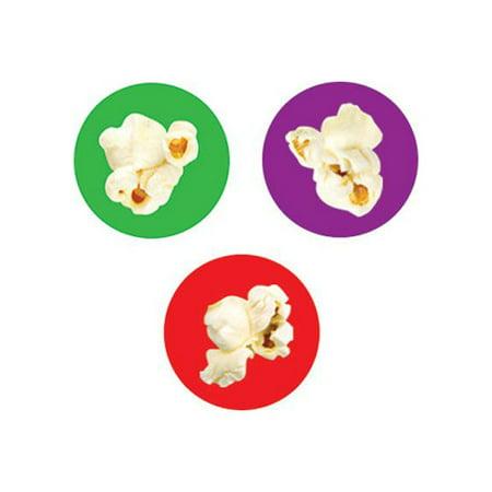 Trend Enterprises Popcorn Time Sticker  Set Of 3