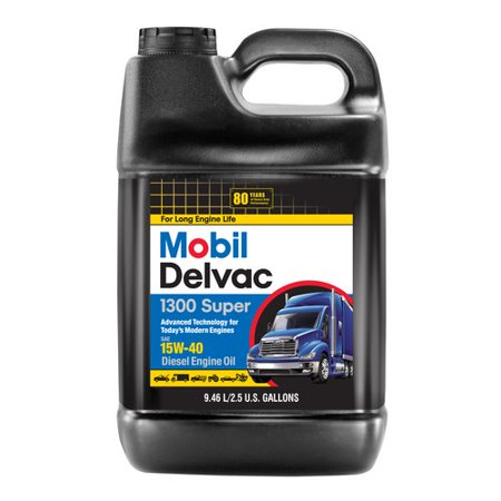 mobil mobil delvac 15w 40 heavy duty diesel oil 2 5 gal. Black Bedroom Furniture Sets. Home Design Ideas