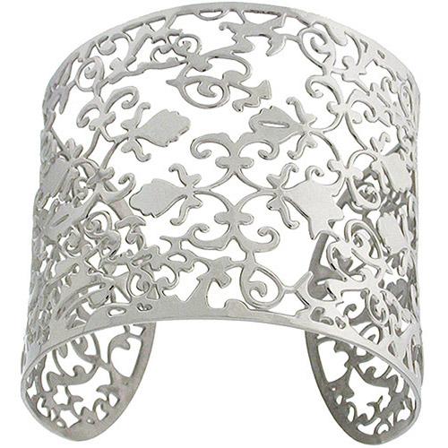 Stainless-Steel Slip-On Cuff Bracelet