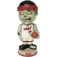 Miami Heat Zombie Vintage Bobblehead