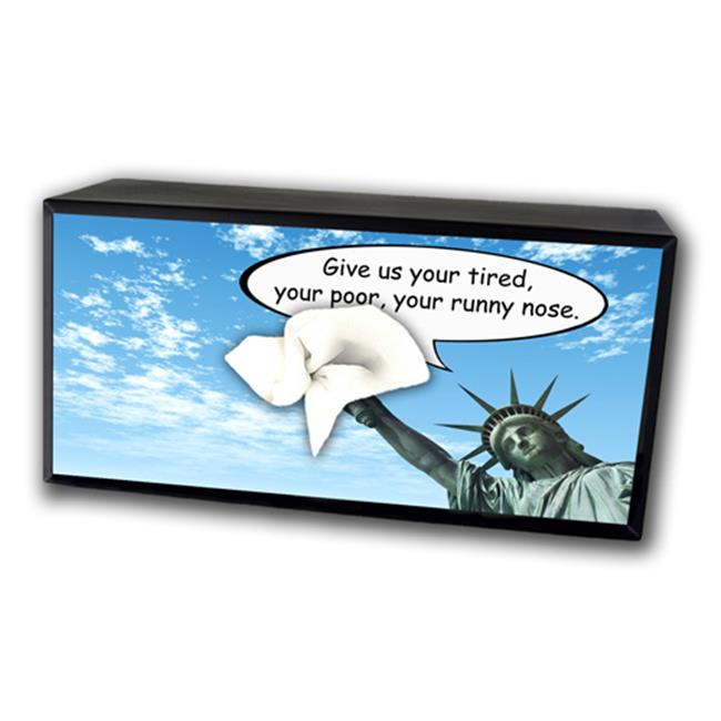 Caravelle TC-6016 Liberty Runny Nose Tissue Box Cover