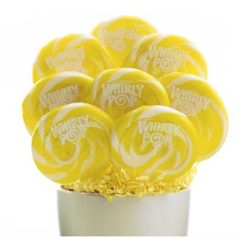 Whirly Pops - 1 Count - Yellow Lollipops