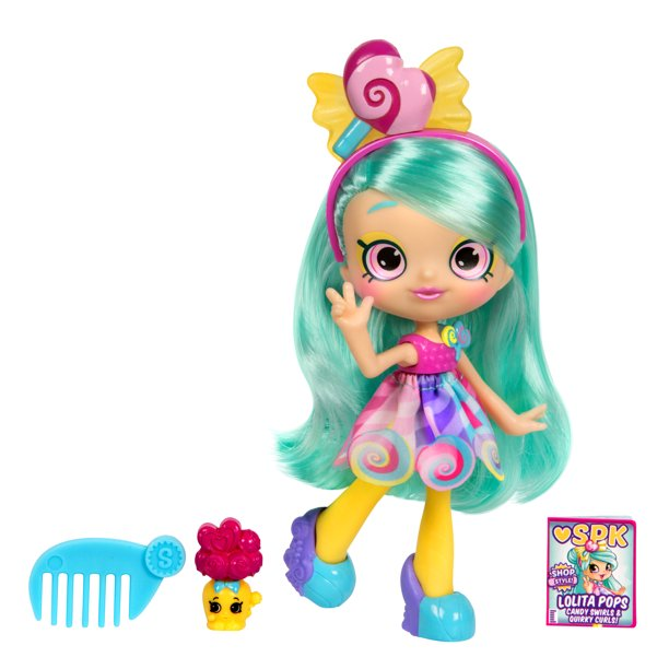 Shopkins Shoppies Doll, Lolita Pops with Her Shopkins BFF Libby Lolly Jar - Walmart.com - Walmart.com