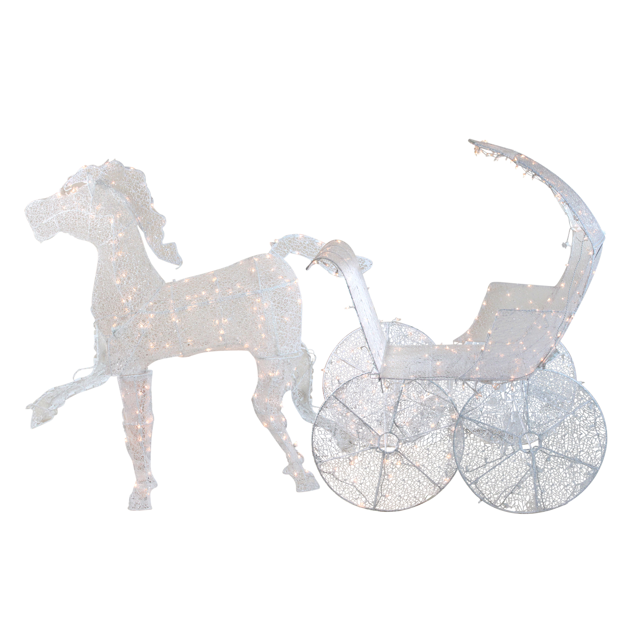 Horse And Carriage Christmas Outdoor