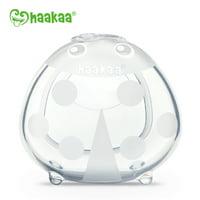 Haakaa Manual Breast Pump 4oz and Ladybug Breast Shell 2.5oz Nursing Set for Breastfeeding BPA Free Silicone